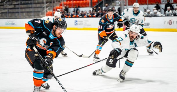 Gulls Split Preseason Series with San Jose