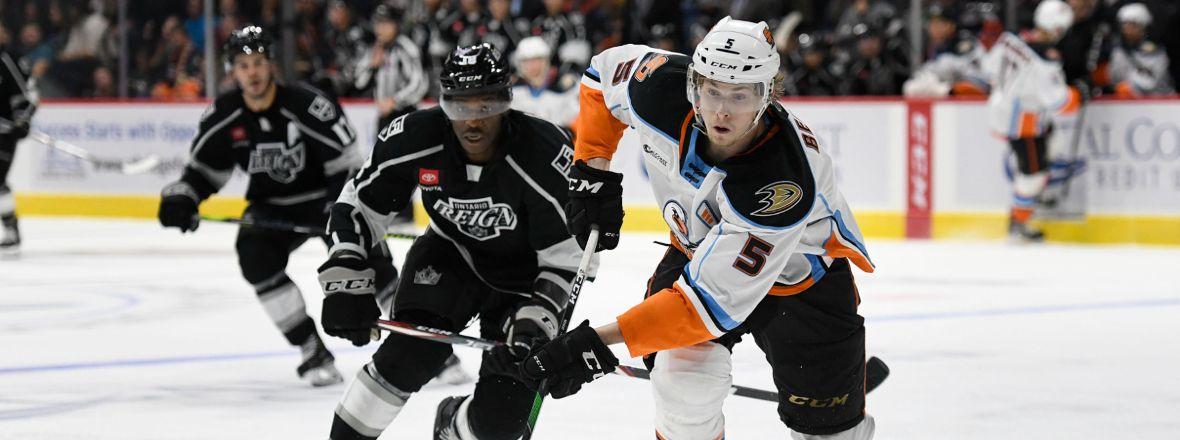 Ducks Recall Guhle, Reassign Benoit to San Diego