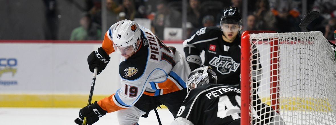 LIVE: Gulls Lead Reign 2-0 In Second Period