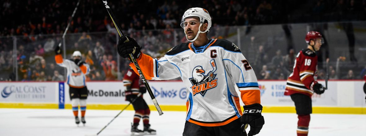 Gulls Top Performers: Sam Carrick