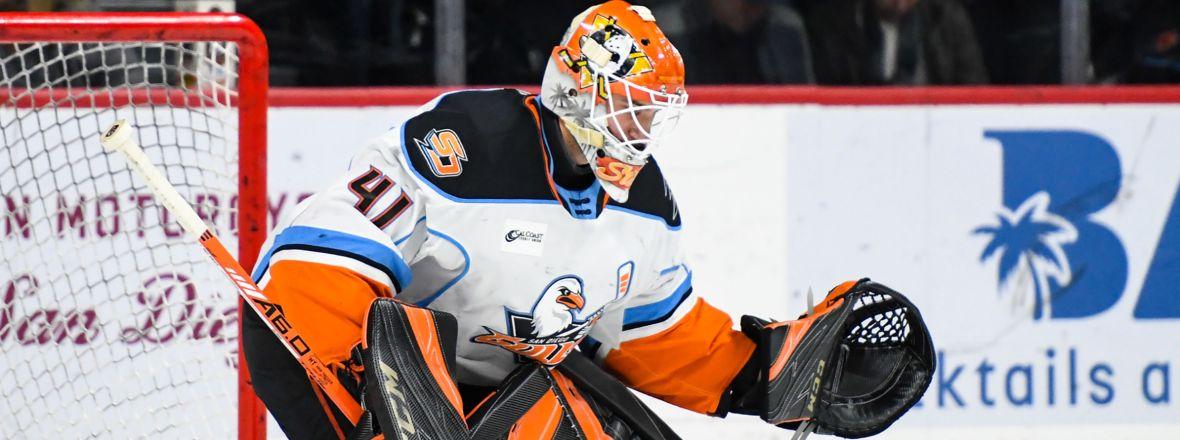 Ducks Reassign Stolarz to San Diego, Recall Carrick
