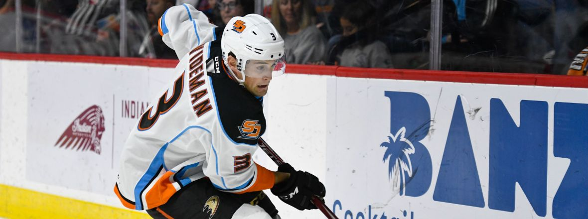 Ducks Recall Wideman from San Diego