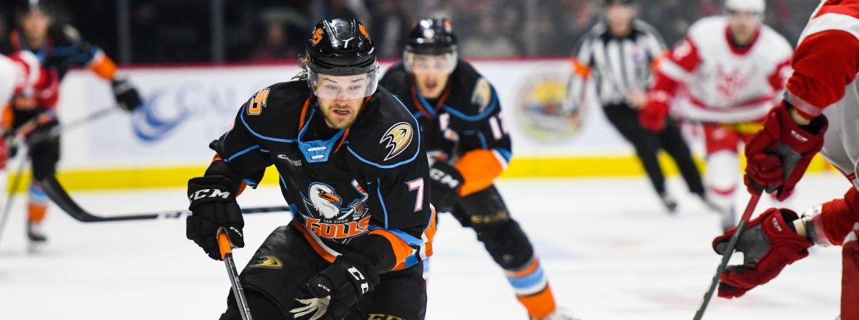 Ducks Reassign De Leo, Jones, Sprong to San Diego, Recall Pietila