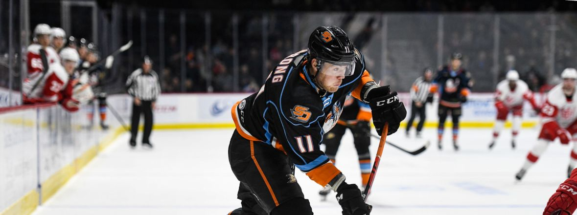 Ducks Reassign Sprong to San Diego