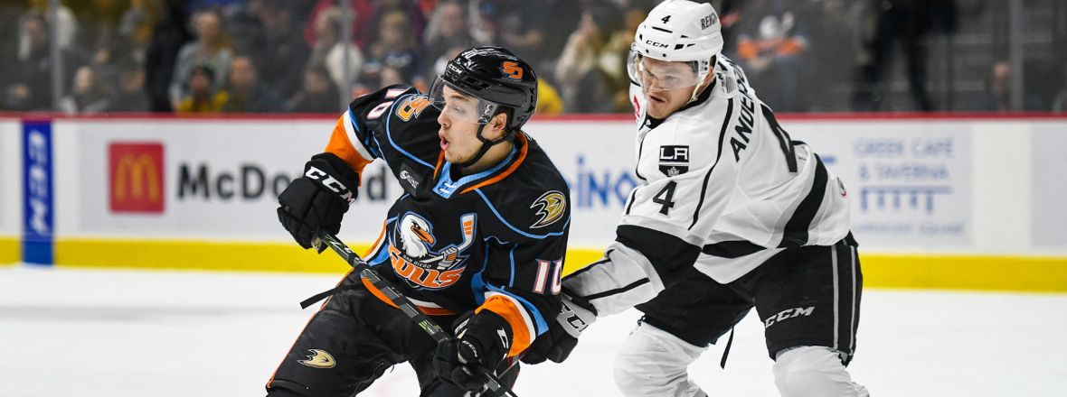Gulls Earn Point, Fall In Overtime