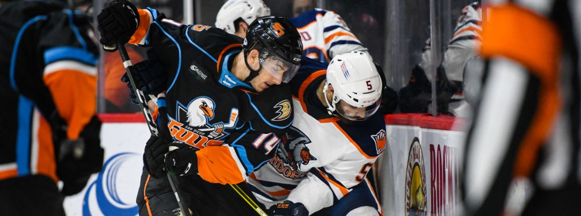 Gulls Earn Point, Fall to Condors in Shootout
