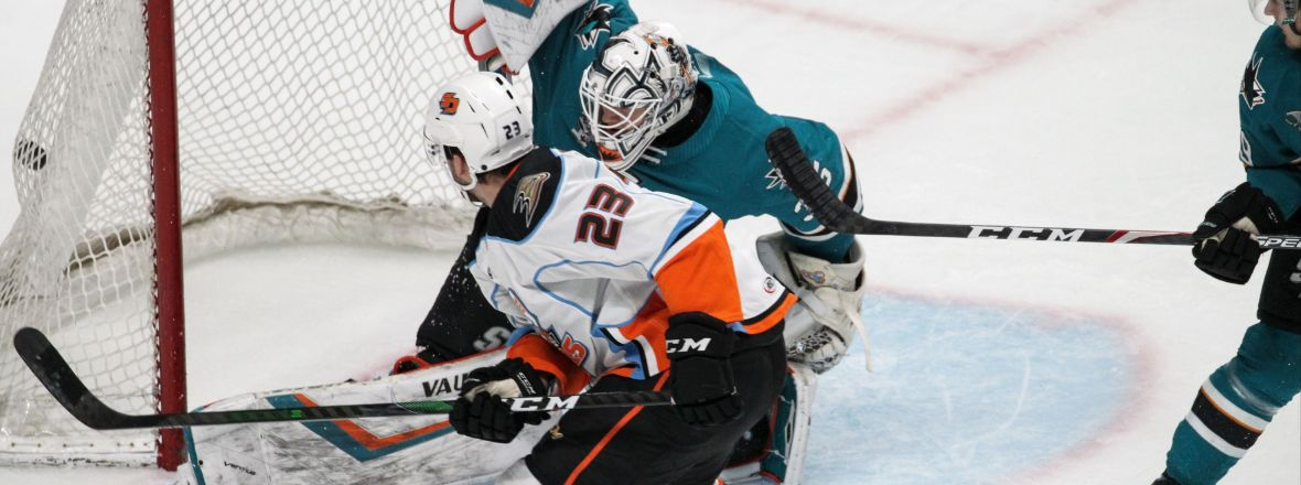 LIVE: Gulls, Barracuda Tied 2-2