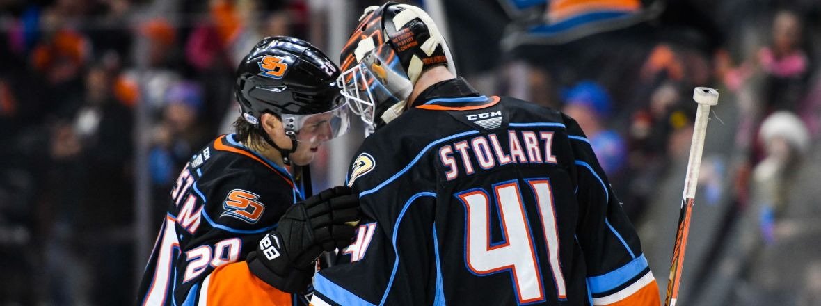 Gulls Top Performers: Anthony Stolarz