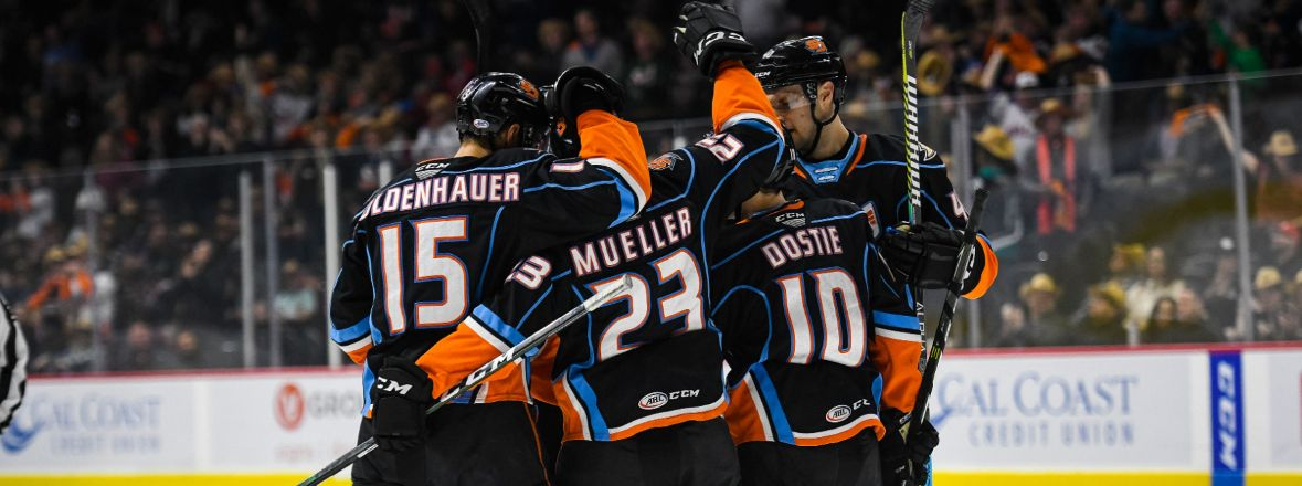 Gulls Move Into Playoff Position