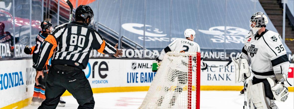 Samuels-Thomas Still Pursues NHL Dream