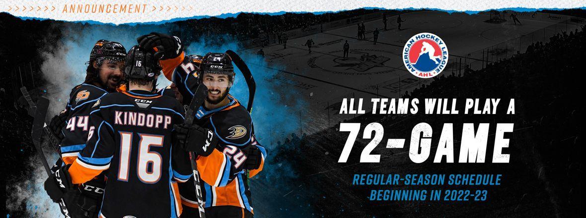 AHL BOG Approves Schedule Unification