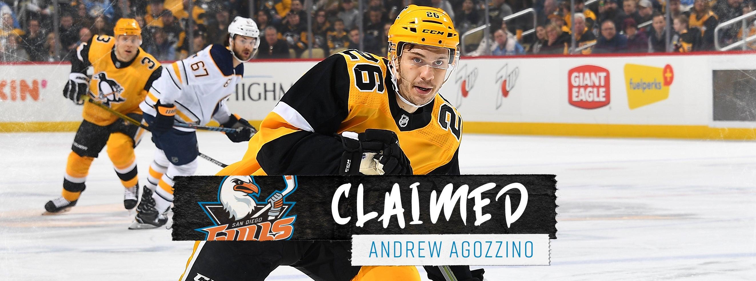 Ducks Claim Agozzino