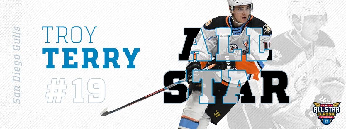 Troy Terry Named AHL All Star