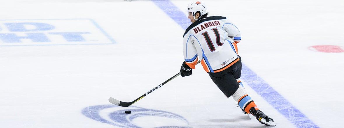 Joseph Blandisi Recalled by Anaheim Ducks