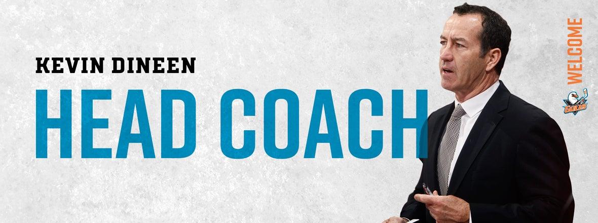 Ducks Name Kevin Dineen Gulls Head Coach