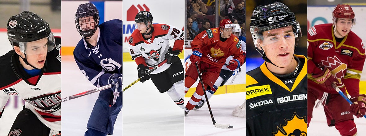 Ducks Draft Six Players on Day 2