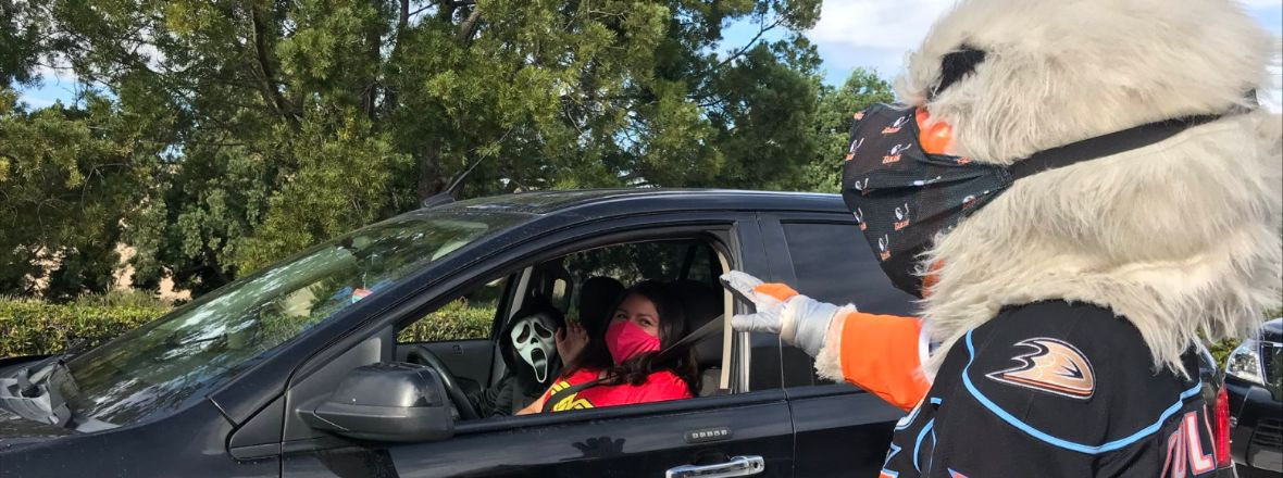 No Tricks, All Treats At Drive-Thru Event