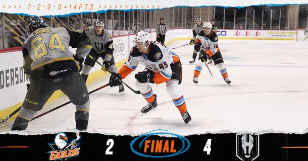 Gulls Drop First Game with Henderson