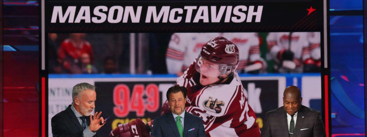 Q&A With Mason McTavish