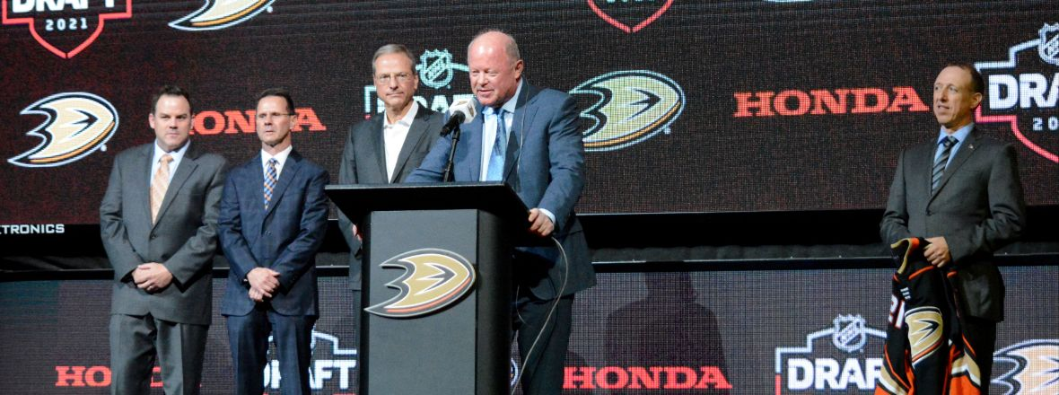 Bob Murray Discusses First Round Selection