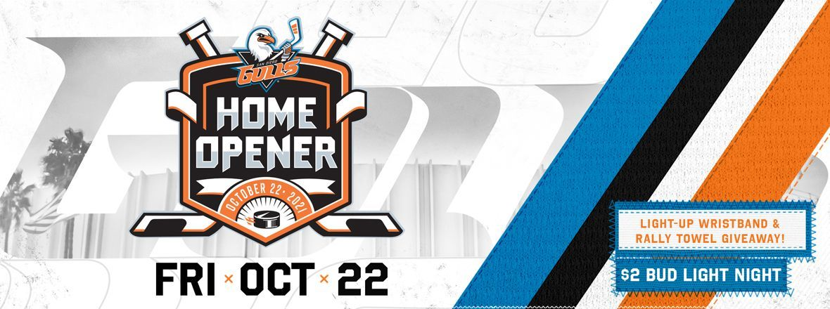 2021-2022 Home Opener Announced