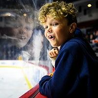 Gulls Elite Experiences - Kid on the Bench