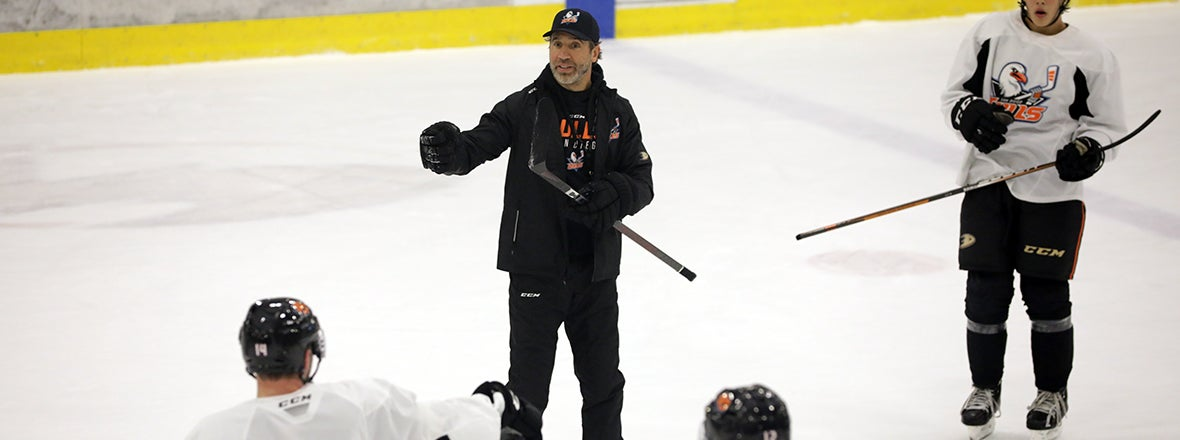 Talbot Leans On Pro Experience In New Coaching Role