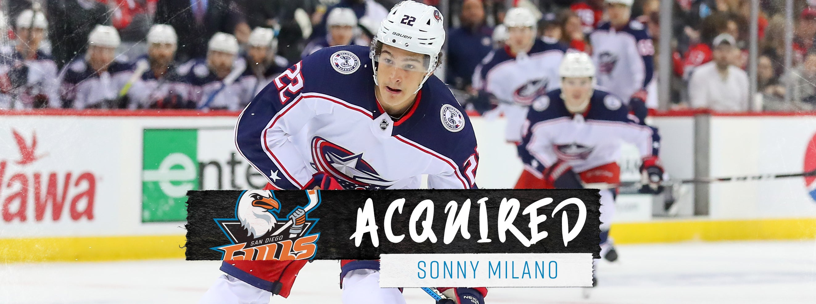 Ducks Acquire Milano from Columbus