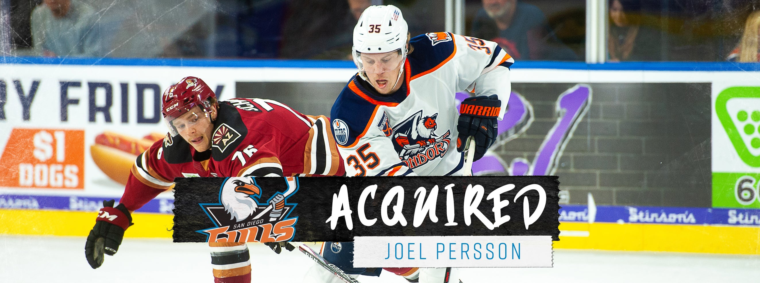 Ducks Acquire Persson from Edmonton