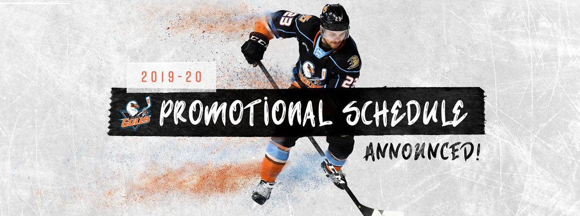 2019-20 Promotional Schedule Announced
