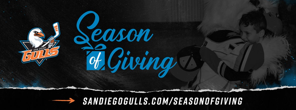 Gulls Introduce Inaugural Season of Giving Events