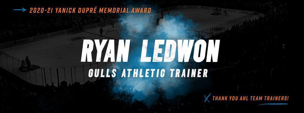 Ledwon, AHL Trainers Receive Yanick Dupré Memorial Award