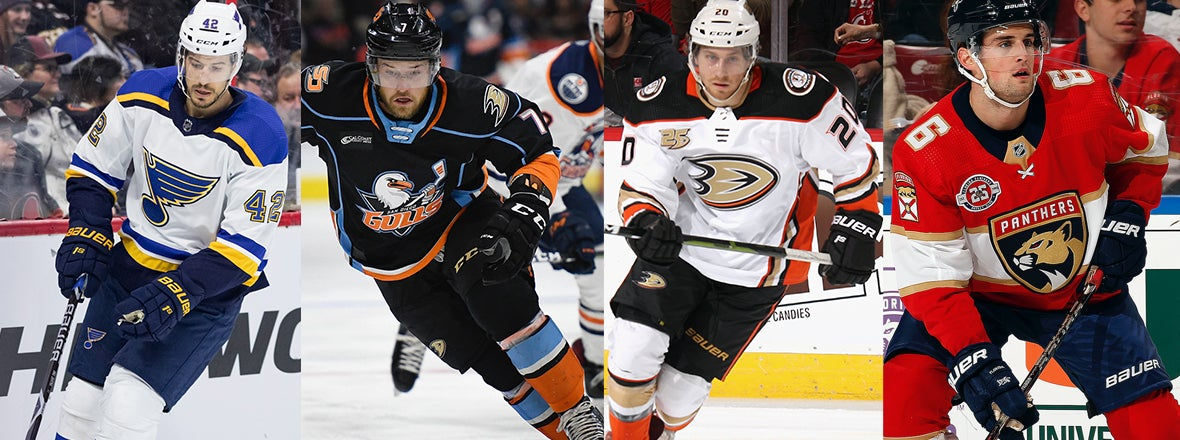 Ducks Sign Del Zotto, De Leo, Kloos and Wideman