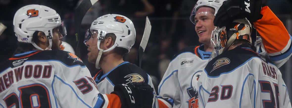 FINAL: Gulls 2, Eagles 1
