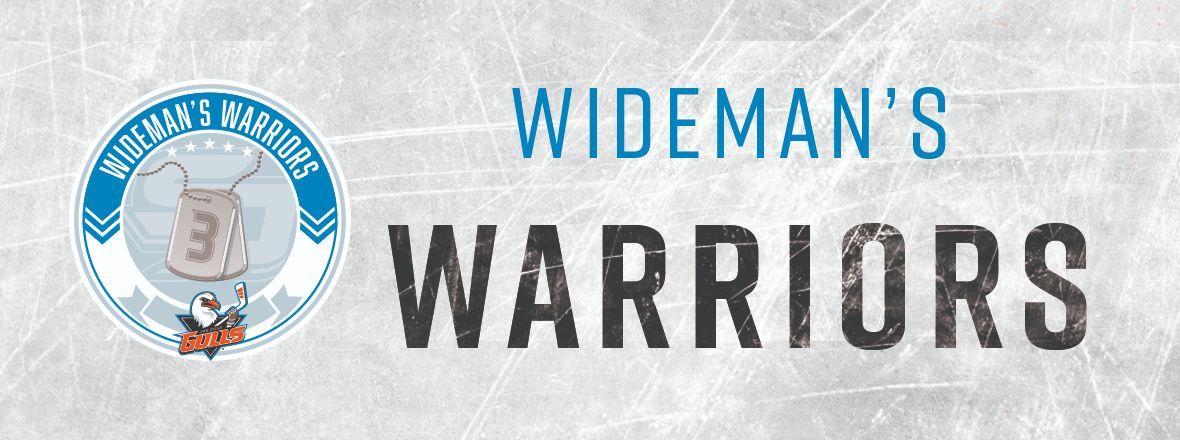Chris Wideman Announces Wideman's Warriors