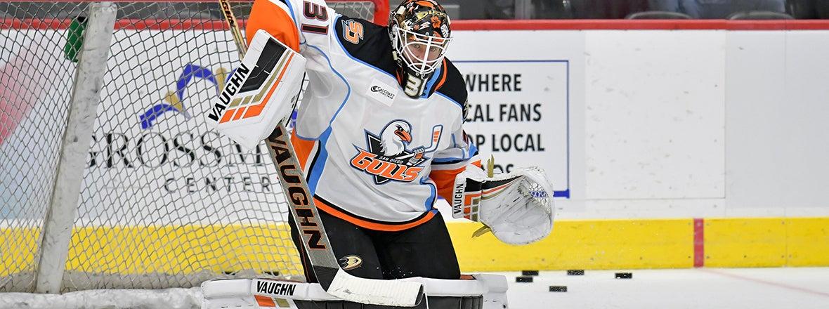 Ducks Trade Goalie Jared Coreau to St. Louis