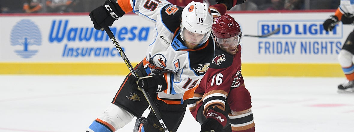 Ducks Reassign Center Chase De Leo to Gulls