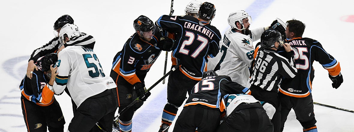 Barracuda Win 5-3 to Tie Knot Series at 1-1