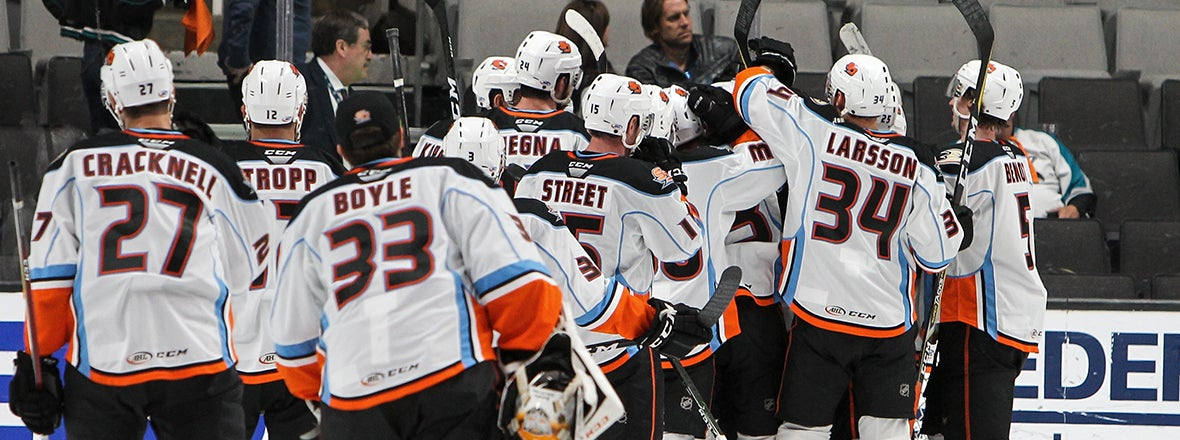 Gulls Clinch Series with 5-2 Win Over Barracuda