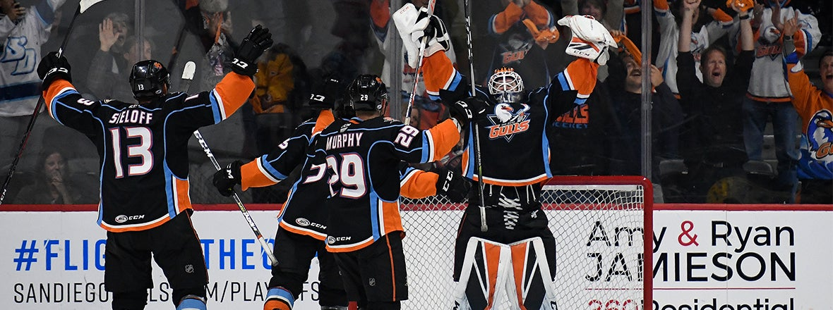 Gulls Eliminate Condors with 6-2 Win