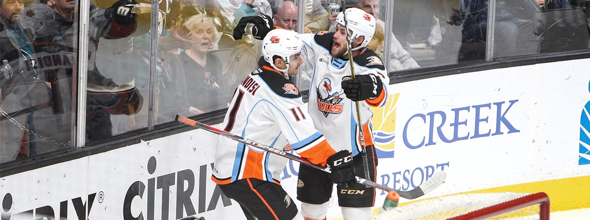 Final: Gulls 5, Barracuda 1