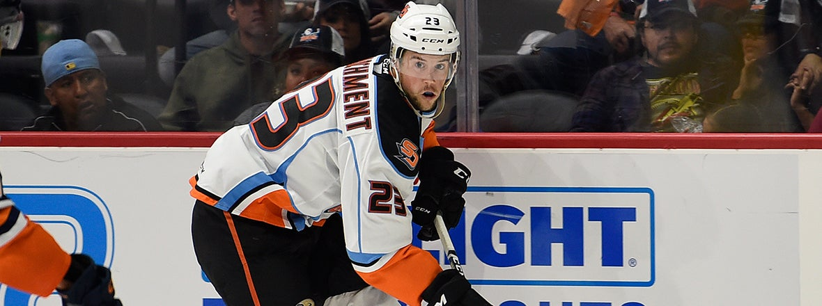 Gulls Sign Jake Marchment to PTO