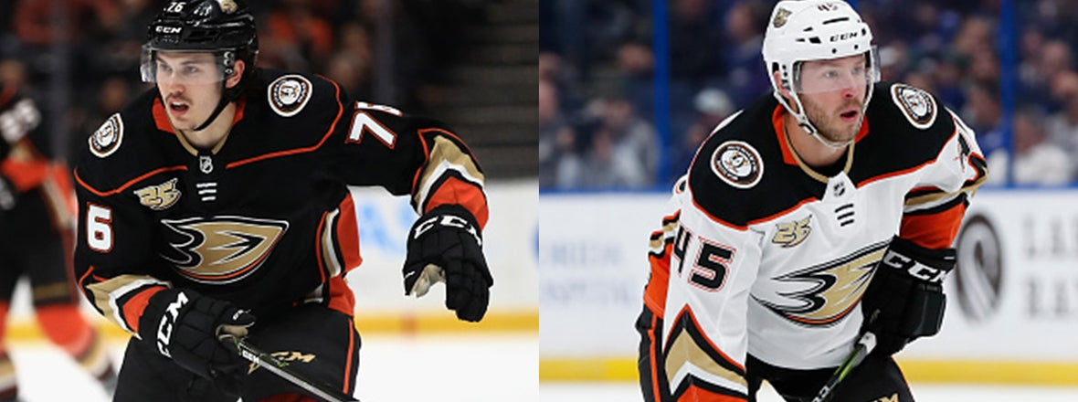 Ducks Announce Four Roster Moves